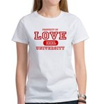 Love University Property Women's T-Shirt