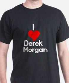I Heart Derek Morgan1 white.png T-Shirt