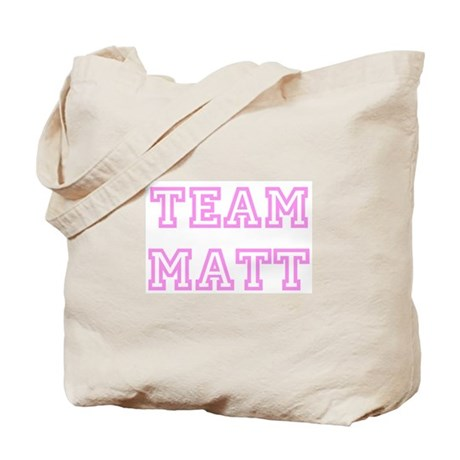 Pink team Matt Tote Bag