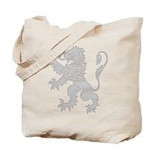Grey Lion Rampant Tote Bag