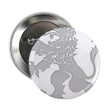 """Grey Lion Rampant 2.25"""" Button"""