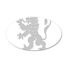 Grey Lion Rampant Wall Decal