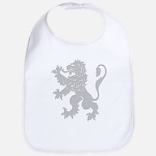 Grey Lion Rampant Bib