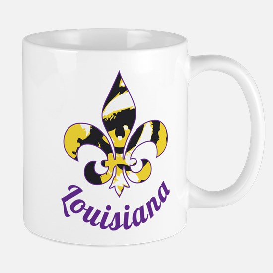 Purple And Gold Mug