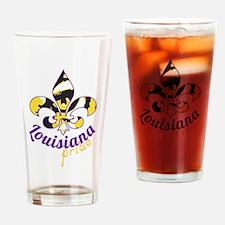 Tiger Football Drinking Glass