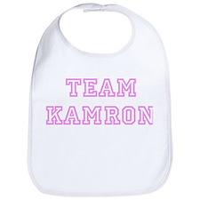Pink team Kamron Bib