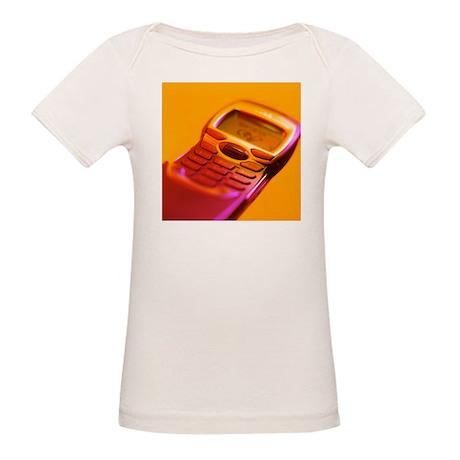 WAP mobile telephone - Organic Baby T-Shirt
