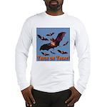 Trick or Treat Seven Bats Long Sleeve T-Shirt