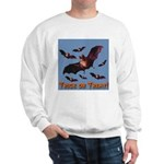 Trick or Treat Seven Bats Sweatshirt