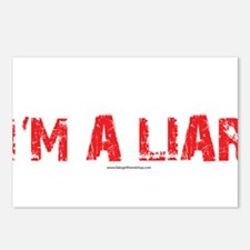 Im a Liar Postcards (Package of 8)