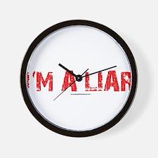 Im a Liar Wall Clock