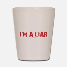 Im a Liar Shot Glass