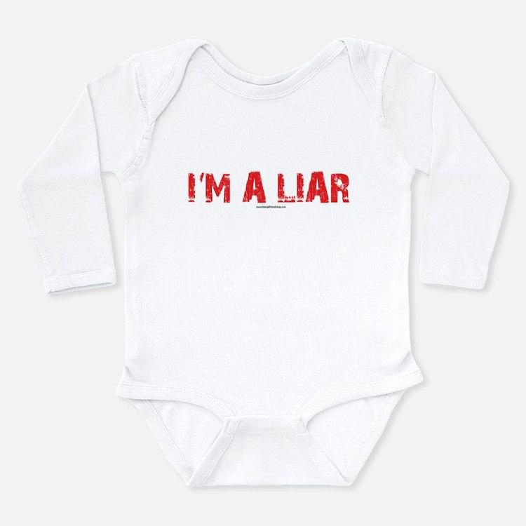 Im a Liar Long Sleeve Infant Bodysuit
