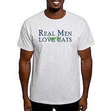 Real Men Love Cats 5 T-Shirt