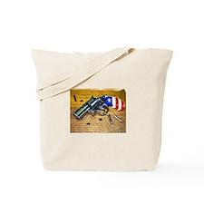 Gun, 2nd Amendment Tote Bag