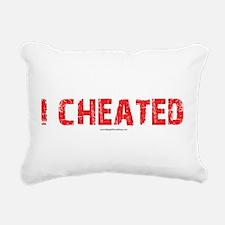 I Cheated Rectangular Canvas Pillow