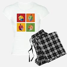 Four Dreidels Pajamas