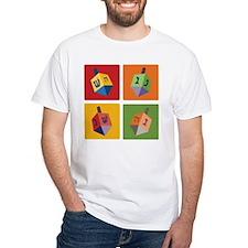 Four Dreidels Shirt