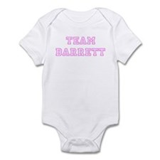Pink team Barrett Infant Bodysuit