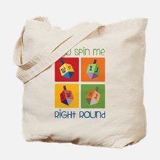 You Spin Me Tote Bag