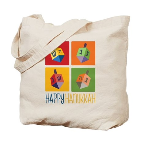 Happy Hanukkah Tote Bag