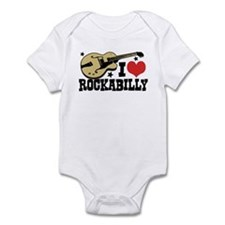 I Love Rockabilly Infant Bodysuit