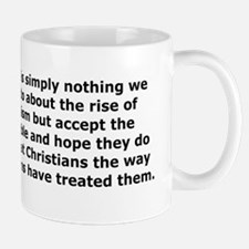 Rise of Atheism Quote Mug