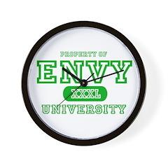 Envy University Property Wall Clock