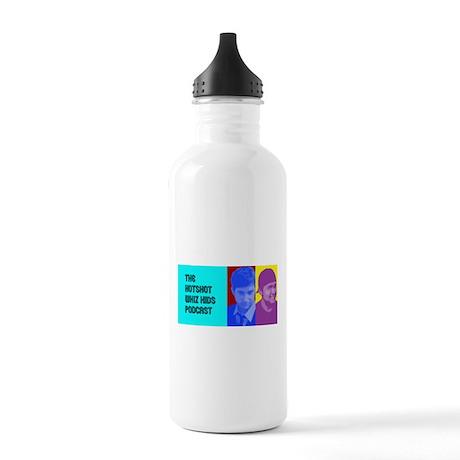 The Hot Shot Whiz Kids Retro Logo Stainless Water