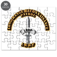 Army - Badge - LRRP Puzzle