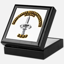Army - Badge - LRRP Keepsake Box