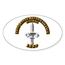 Army - Badge - LRRP Decal