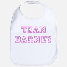 Pink team Barney Bib