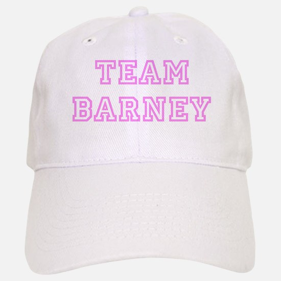 Pink team Barney Baseball Baseball Cap