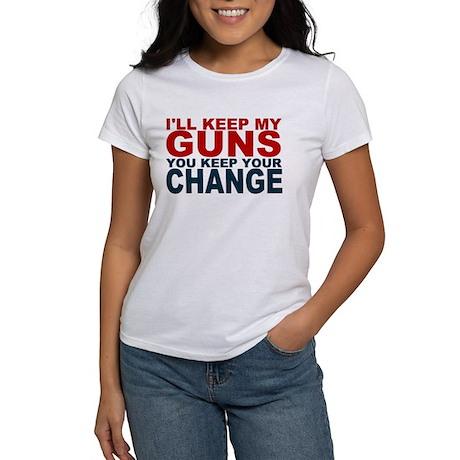 Ill keep my guns Women's T-Shirt