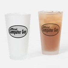 Official Computer Guy Drinking Glass