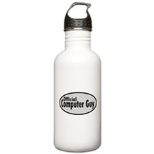 Official Computer Guy Water Bottle
