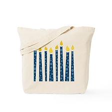 Hanukkah Candles Tote Bag