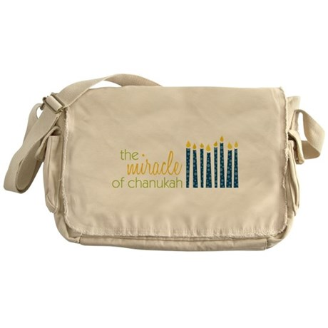 The Miracle Messenger Bag