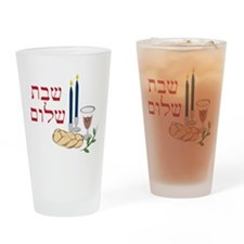 Shabbat Drinking Glass