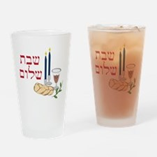 Shabbat Drinking Glass