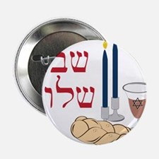 "Shabbat 2.25"" Button"