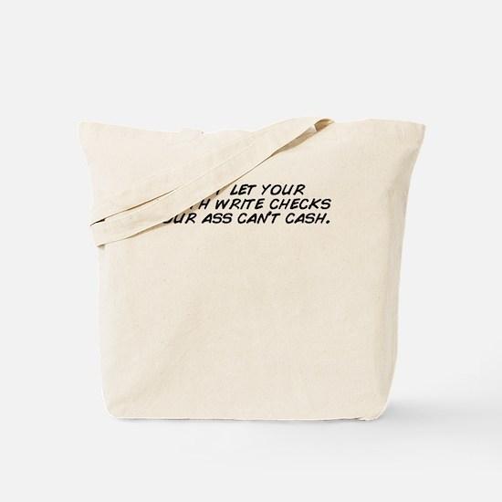 Funny Cas Tote Bag