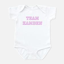 Pink team Kamden Infant Bodysuit
