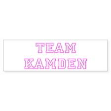 Pink team Kamden Bumper Bumper Sticker