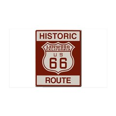 Lenwood Route 66 Wall Decal