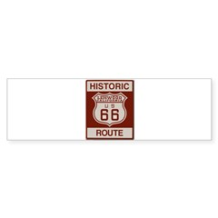 Lenwood Route 66 Sticker (Bumper 10 pk)