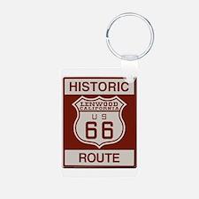 Lenwood Route 66 Keychains
