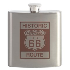 Lenwood Route 66 Flask