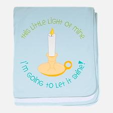 Let It Shine baby blanket
